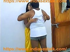 indiasextalk.com deshi unsatisfied mohini aunty fucked by devar in home alone