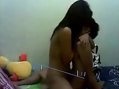 Sister Grabs Small brother and ride his dick