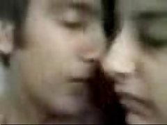 Pathan Girl Fathima Kissing Her BF clip0